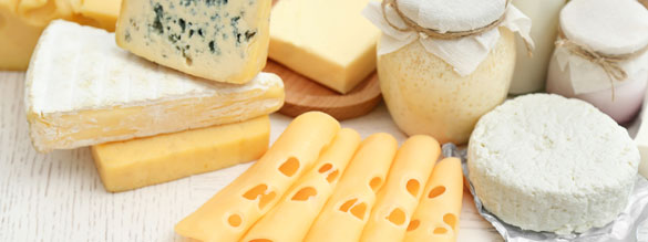 authentic cheese flavors