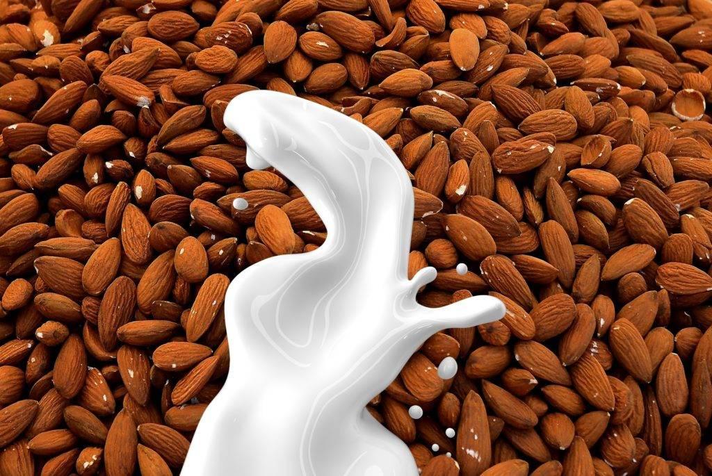 plant-based almond milk 2021 food trends