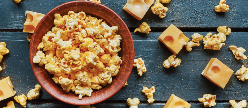 free-from clean label popcorn snack