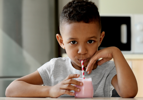 mouthfeel plant-based milk shake